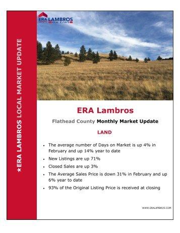Flathead County Land Market Update - February 2018