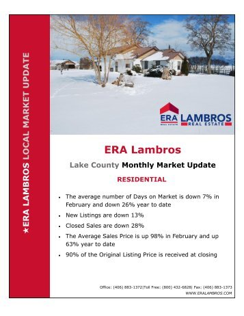 Lake County Residential Update - February 2018