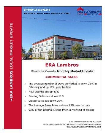 Missoula Commercial Update - February 2018