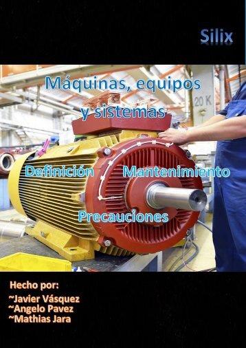 Mantenimiento de maquinas