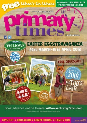 Primary Times Hertfordshire Easter 2018