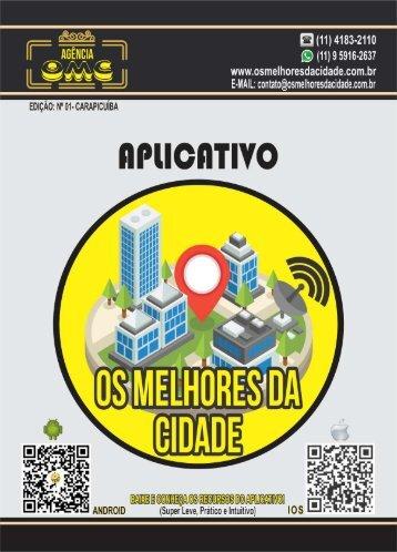 REVISTA APLICATIVO - CARAPICUÍBA - EDIÇÃO 01