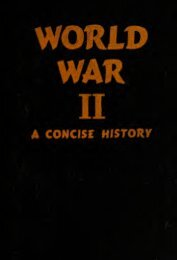 World War ii, a  concise history