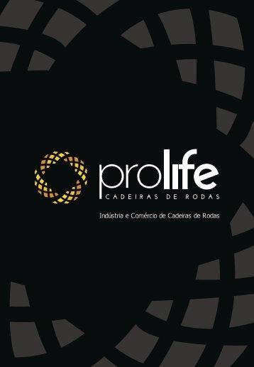 PROLIFE CADEIRAS DE RODAS - CATALOGO - PDF