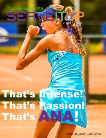Serveitup Tennis Magazine #26