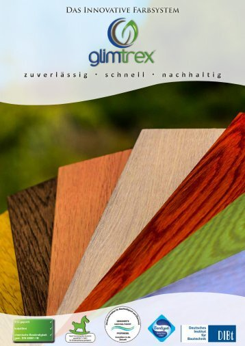glimtrex Farbsystem Katalog 2018