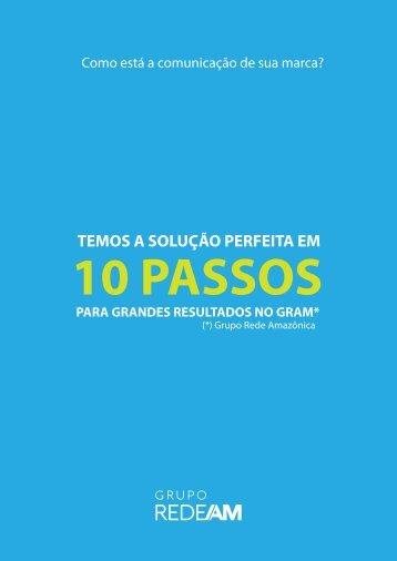 10 PASSOS PARA GRANDES RESULTADOS NO GRAM