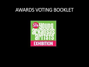 57YAA Awards Voting Booklet