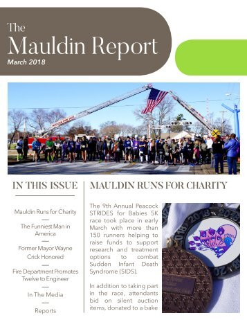 March 2018 Mauldin Report
