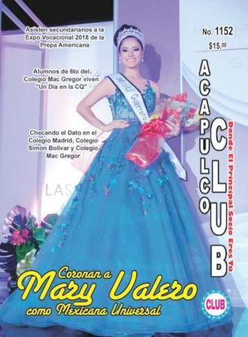 Revista Acapulco Club 1152