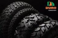 DURO Tire PowerSports Catalog