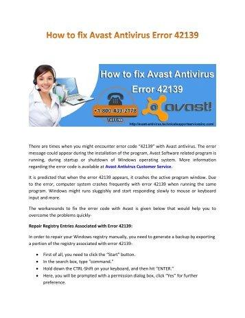 how-avast-antivirus-error-42139