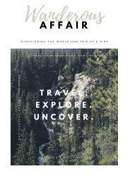 Wanderous Affair: Volume1, Issue1