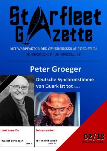 Starfleet-Gazette, Ausgabe 056 (Februar 2018)