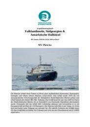 Falklandinseln, Südgeorgien & Antarktische Halbinsel - Spitzbergen