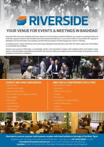 Riverside Events