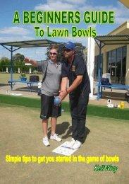 Bowls Booklet
