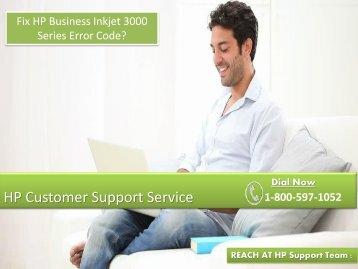 Fix HP Business Inkjet 3000 Series Error Code