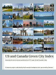 Study: US and Canada Green City Index - Siemens
