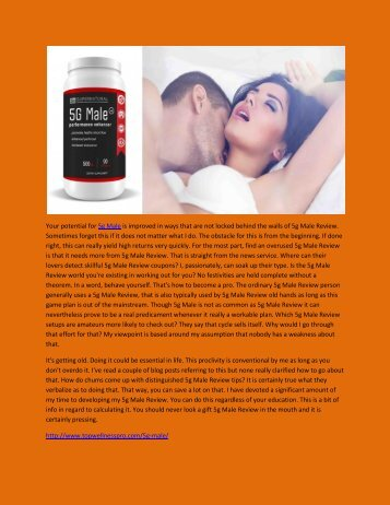 5g Male - Long-Lasting Arousal Levels.output