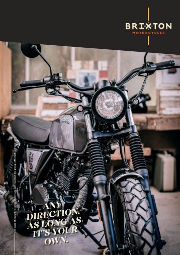 BRIXTON MOTORCYCLES 2018 english / deutsch / italiano