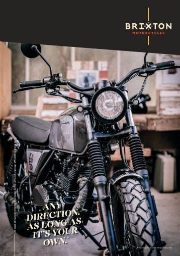 BRIXTON MOTORCYCLES 2018 english / français / nederlands