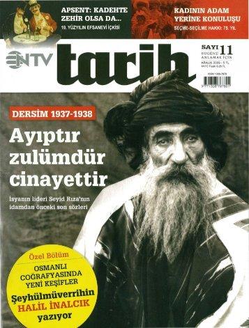 NTV Tarih - Aralık 2009