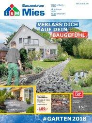 Gartenkatalog #GARTEN 2018 i&M Bauzentrum Mies