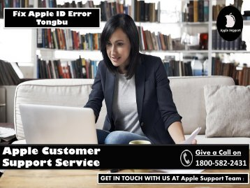 Fix Apple ID Error Tongbu