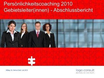 02 - Persönlichkeits-Coaching 2010
