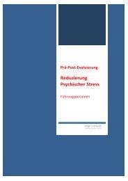 03 - Reduzierung psychischer Stress