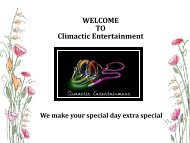 Corporate Party DJ Leland NC – Climactic Entertainment