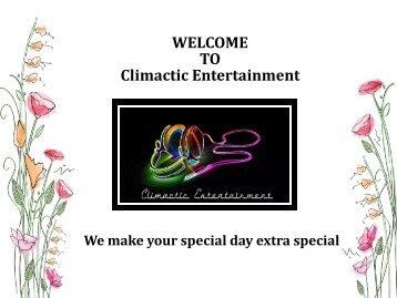 Corporate Party DJ Leland NC – Climactic Entertainment