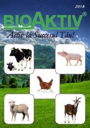 Catalog BioAktiv for animal feed