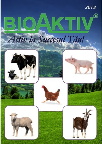 Catalog BioAktiv for animal feed