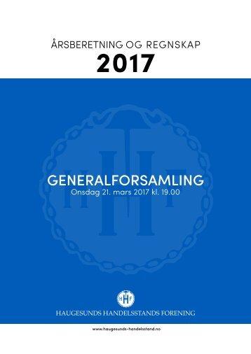 HHF_årsberetning 2017