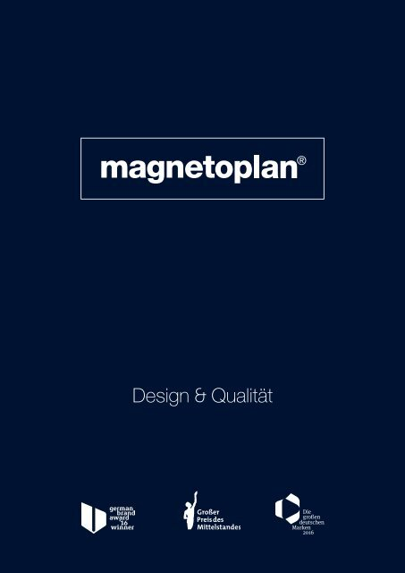 Magnetoplan Main Catalogue 2018 2019