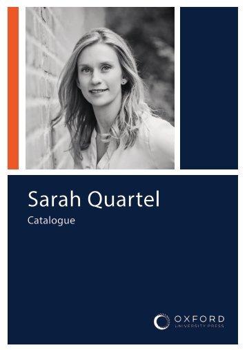 Sarah Quartel Catalogue