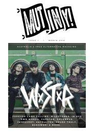Mutiny Magazine - Issue 1