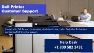 Fix Dell Printer Error Code 007-371