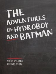 The Adventures of Hydroboy and Batman