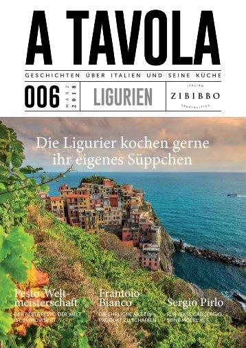 """""""A Tavola"""" Ausgabe 6 Ligurien"""