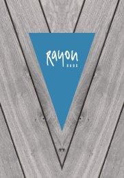 Getränke- und Speisekarte Rayon Haus Magdeburg
