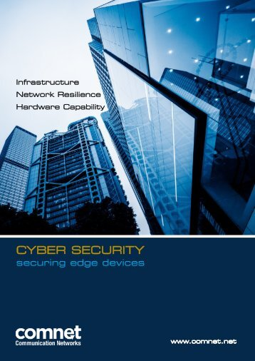 ComNet -- Cyber Security & Securing Edge Devices