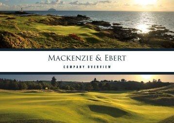 Mackenzie & Ebert Project Portfolio 2018