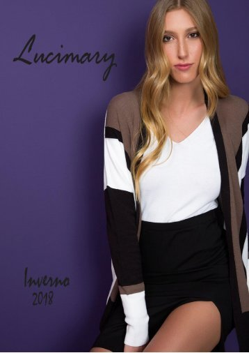 INVERNO 2018 LUCIMARY TRICOT