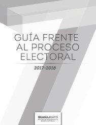 Guía frente al proceso electoral 2018