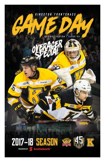 Kingston Frontenacs GameDay March 16, 2018