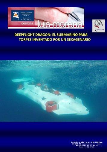 DEEPFLIGHT DRAGON EL SUBMARINO PARA TORPES INVENTADO POR UN SEXAGENARIO - Nauta360