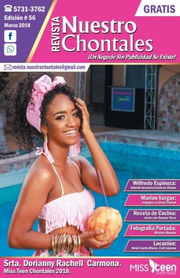 Revista Nuestro Chontales - Marzo 2018